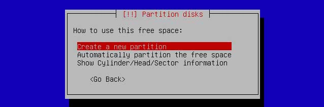 how to delete and create a new partition linux